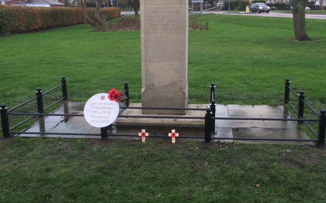 WW1 Commemorative Plaque